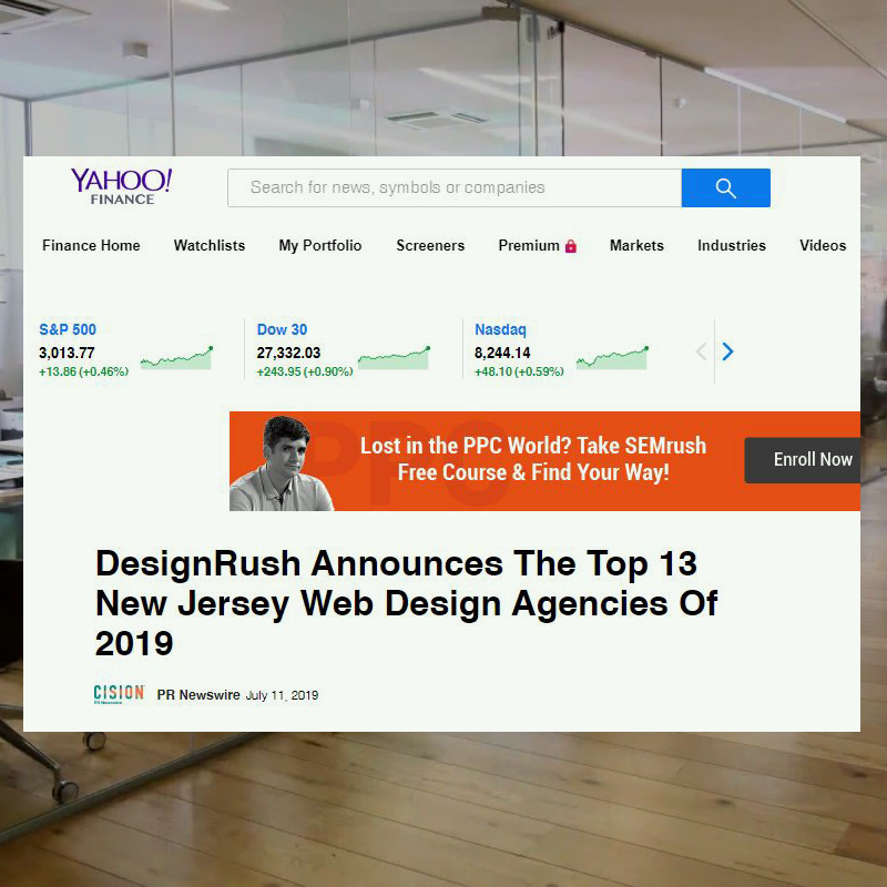 DesignRush Announces The Top 13 New Jersey Web Design Agencies Of 2019