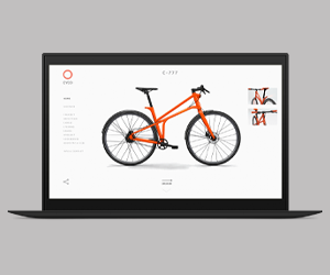graphic design for O bikes website